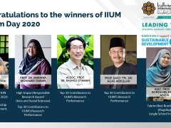 Congratulations to the winners of IIUM Takrim Day 2020!