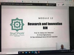 Flagship Project - Session 4: ShaCProW TRAINING FOR TRAINERS