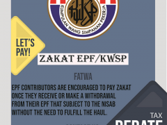 IIUM ZAKAT CAMPAIGN - Let's Pay Employees Provident Fund