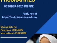 IIUM Postgraduate Programmes