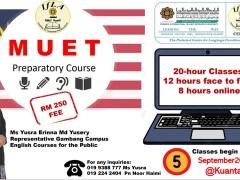 MUET Preparatory Course (Kuantan)
