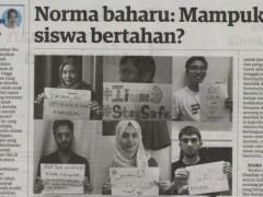UIAM Berhujah - - Norma Baharu : Mampukah siswa bertahan?
