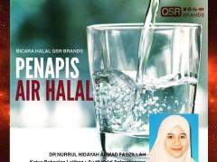 "Bicara Halal IKIM FM- ""Penapis Air Halal'"