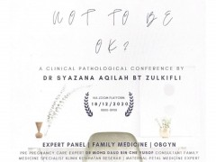 """Invitation to Attend Online KOM Clinical Pathological Conference (KOM CPC) NO.3/2020 : """"Is It Okay Not to Be Okay!"""""""