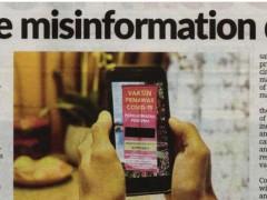Vaccine misinformation danger