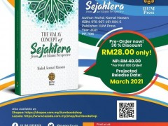 OPEN FOR PRE-ORDER: The Malay Concept of Sejahtera from an Islamic Perspective