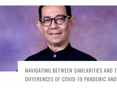 Navigating between similarities and the differences of COVID-19 pandemic and (E)SD