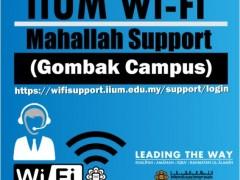 WIFI GOMBAK CAMPUS