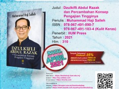 OPEN FOR PRE-ORDER : Dzulkifli Abdul Razak dan Percambahan Konsep Pengajian Tingginya