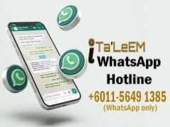 iTa'leem Whatsapp Hotline