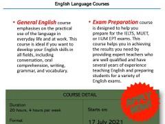 ENGLISH LANGUAGE COURSES (IFLA)