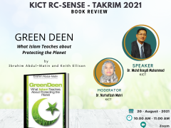 RC-Sense: Book Review on Green Deen: What Islam Teaches about Protecting the Planet by  Ibrahim Abdul-Matin and Keith Ellison