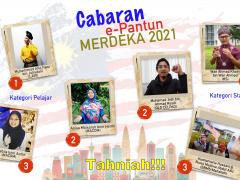 CABARAN E-PANTUN MERDEKA 2021