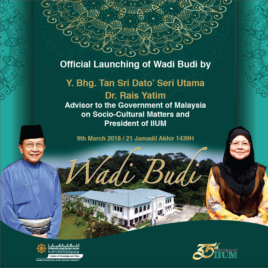 Official Launch of Wadi Budi