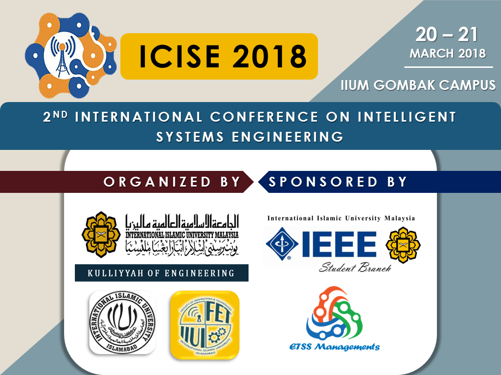 2nd International Conference on Intelligent System Engineering