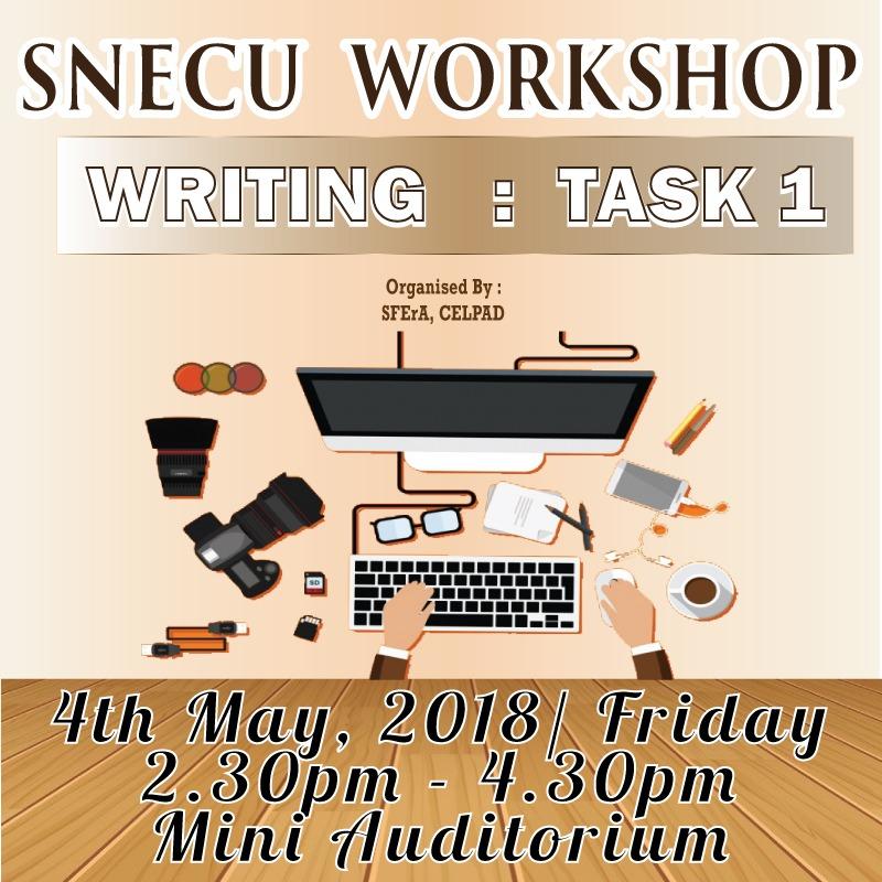 SNECU Workshop: Writing Task 1