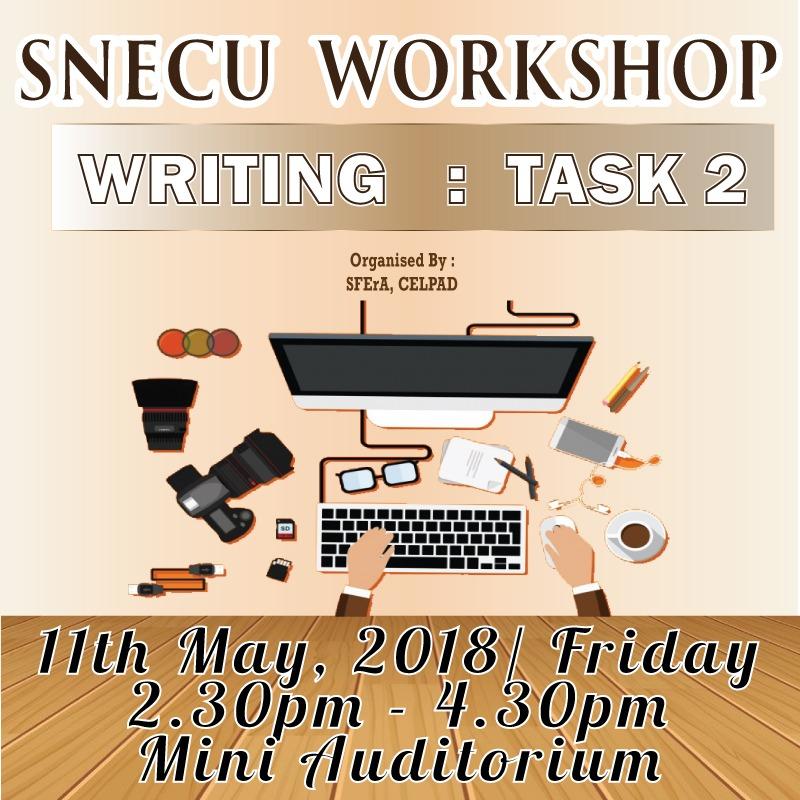 SNECU Workshop: Writing Task 2
