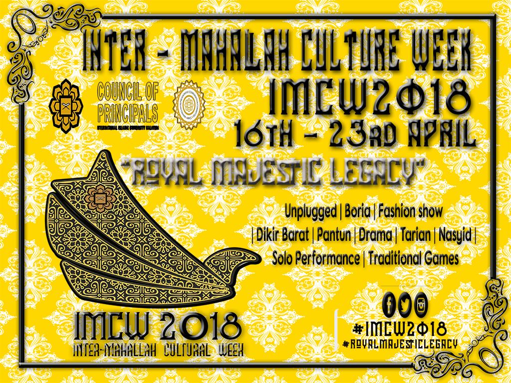Inter- Mahallah Cultural Week 2018