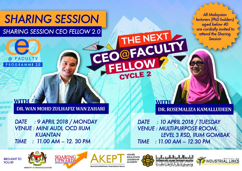 CEO @ FACULTY PROGRAM 2.0 (SHARING SESSION)