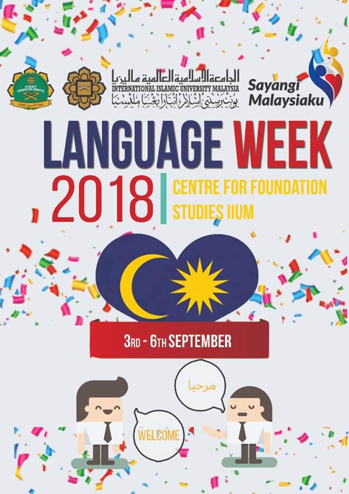 CFS LANGUAGE WEEK 2018
