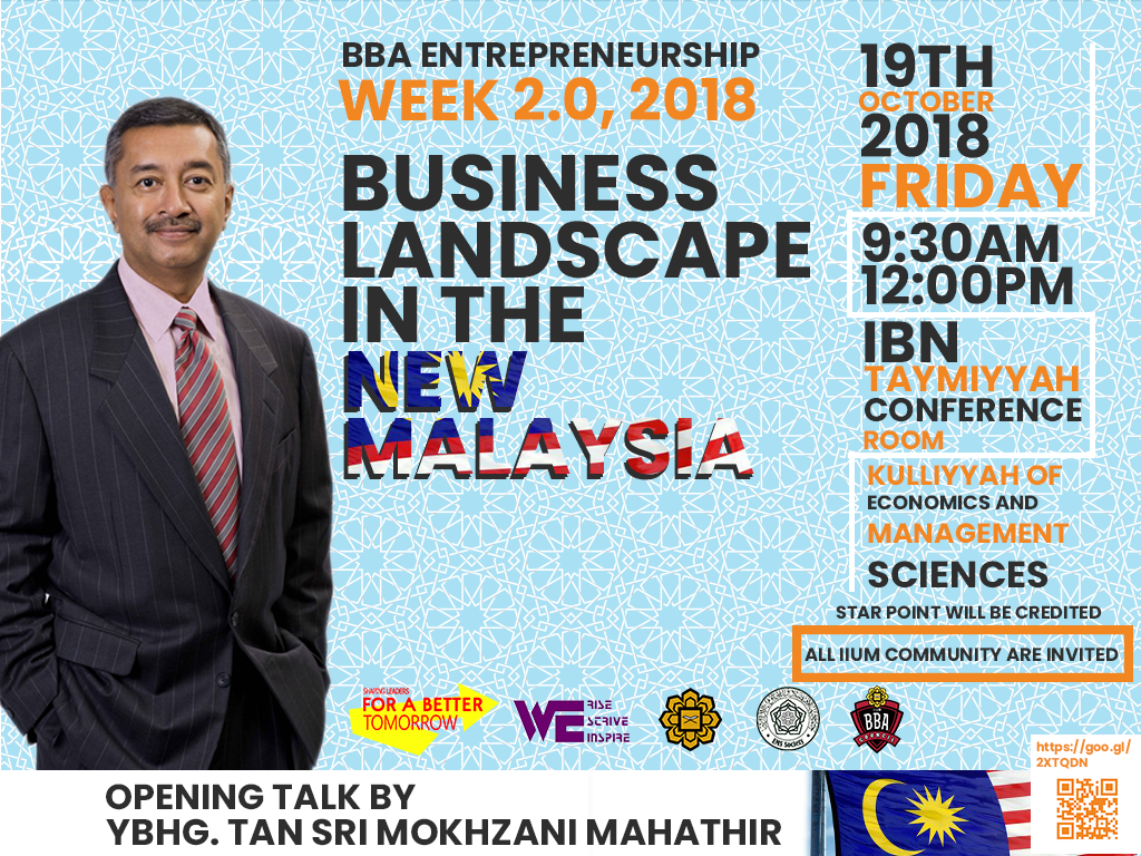 Business Landscape in the New Malaysia