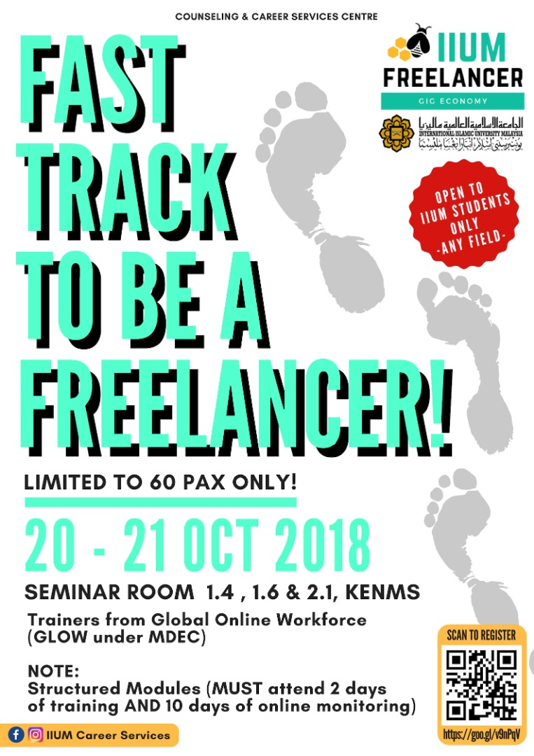 FAST TRACK TO BE A FREELANCER