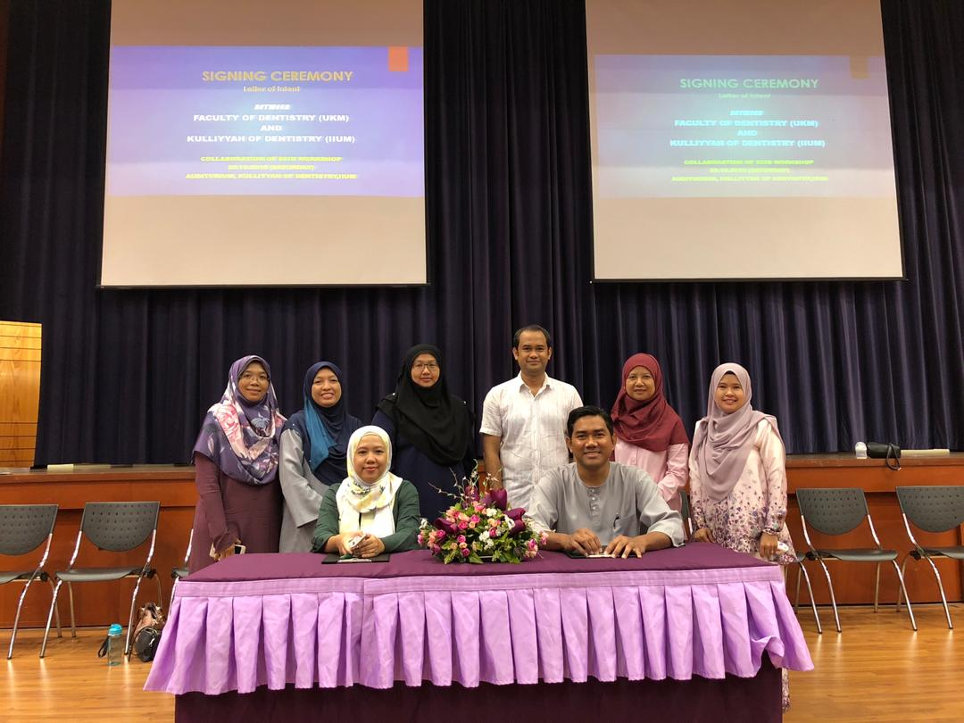 Letter of Intent Signing Ceremony on Collaboration of SCID Workshop