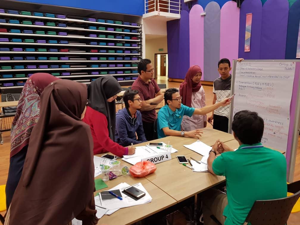 Smoking Cessation Intervention for Dental Student Workshop 2018