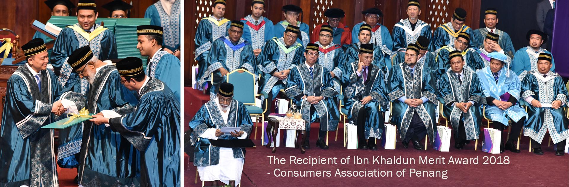 CAP 1 - Recipient of Ibn Khaldun Award