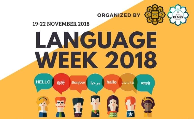 Language Week 2018