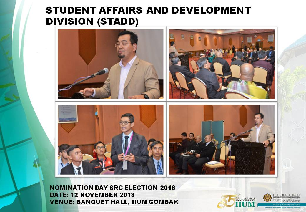 SRC ELECTION 2018 -  NOMINATION DAY