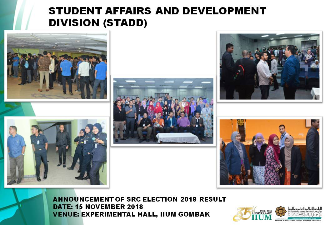 SRC ELECTION 2018 -  POLING DAY, COUNTING PROCESS AND RESULT ANNOUNCEMENT