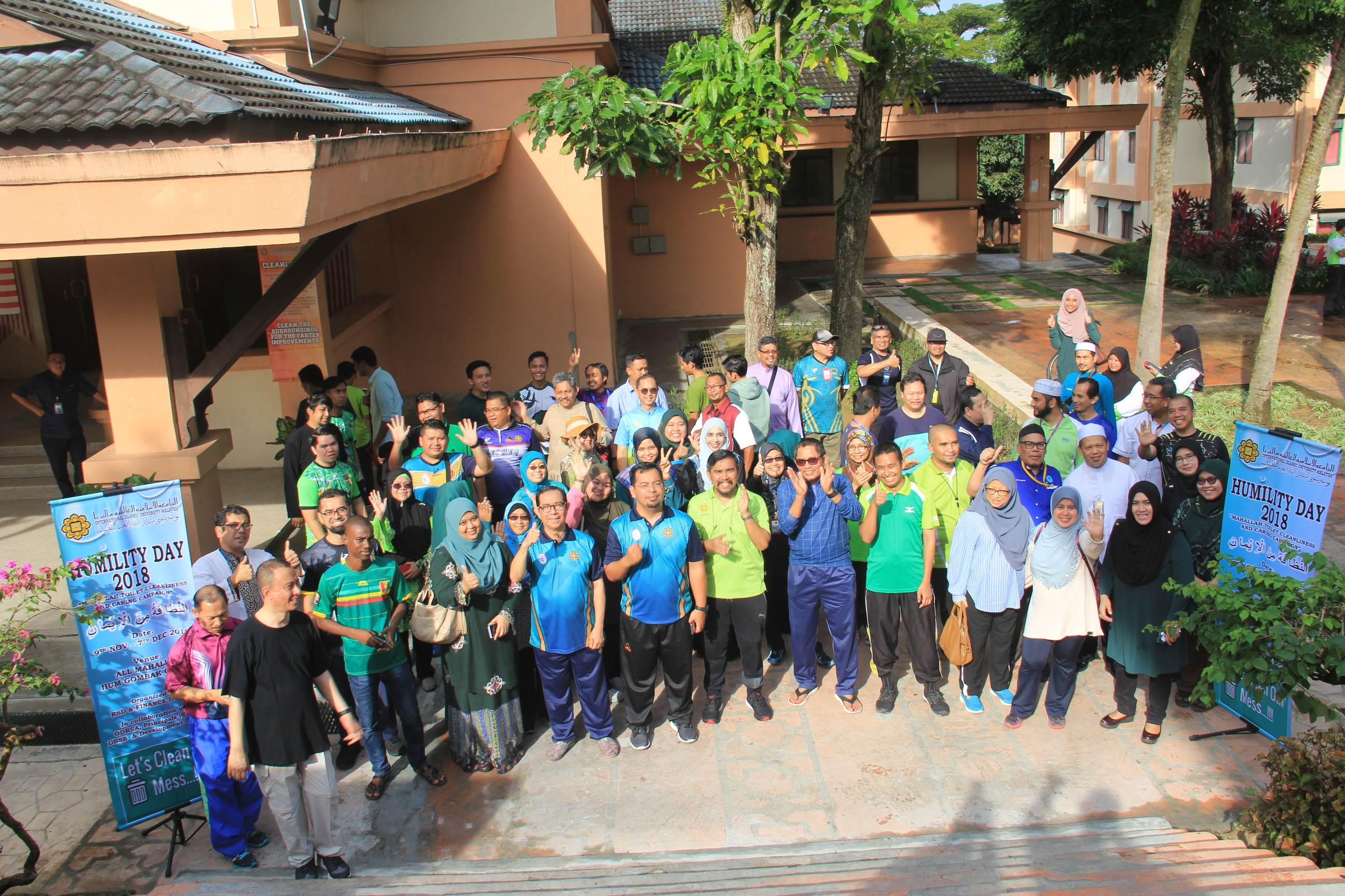 """Launching of Humility Day 2018 """"Mahalah toilet Cleanliness and Caring Campaign"""""""