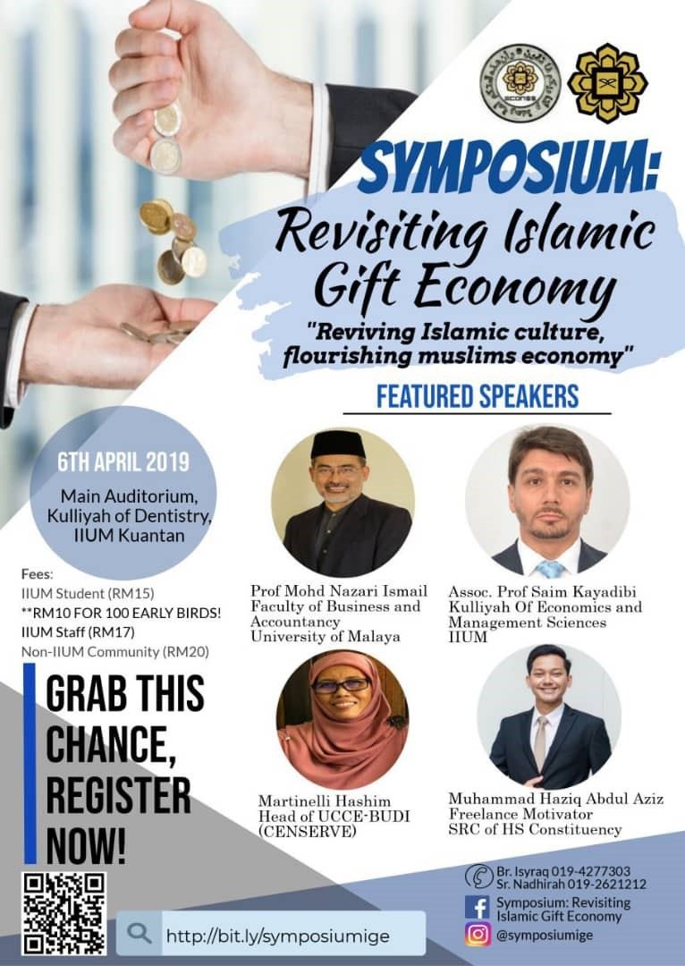 Symposium: Revisiting The Islamic Gift Economy