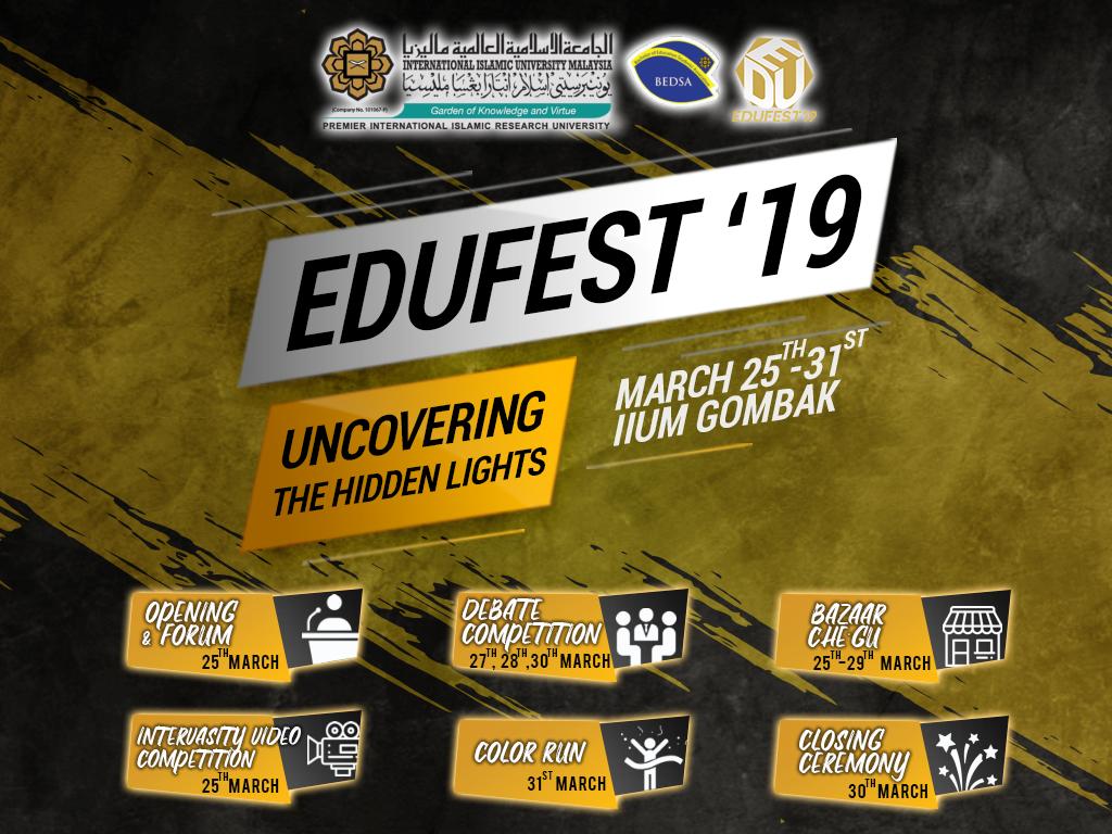 Educational Festival 2019 (EDUFEST '19)