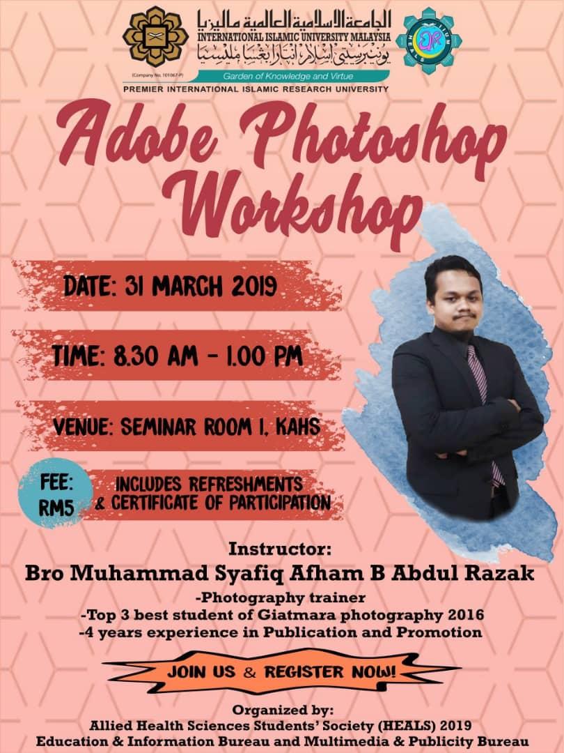 Adobe Photoshop Workshop