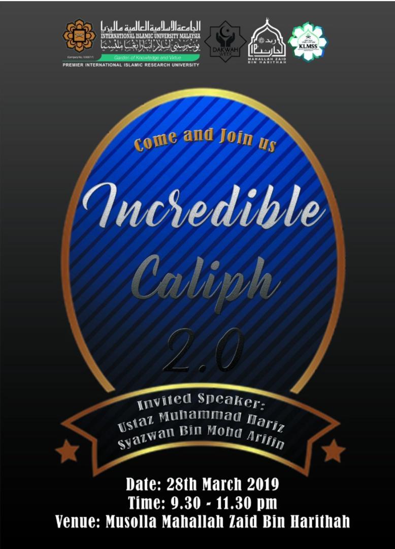 Incredible Caliph 2.0