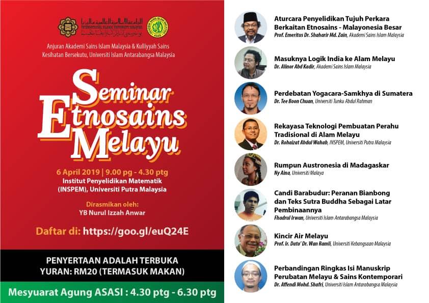 Seminar on Malay Ethnoscience