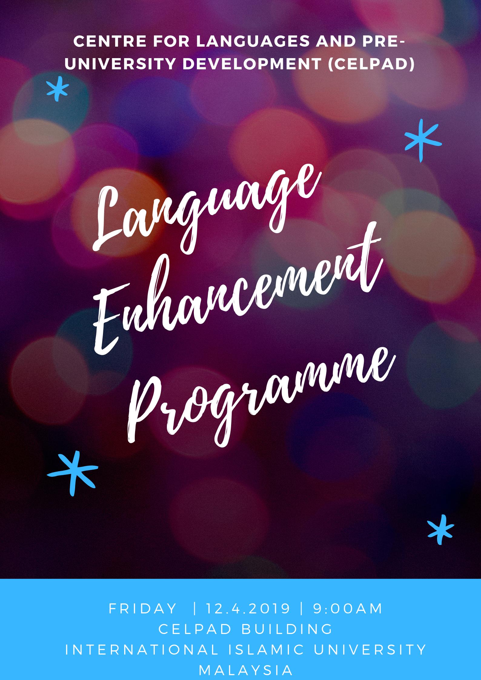 Language Enhancement Programme 2019