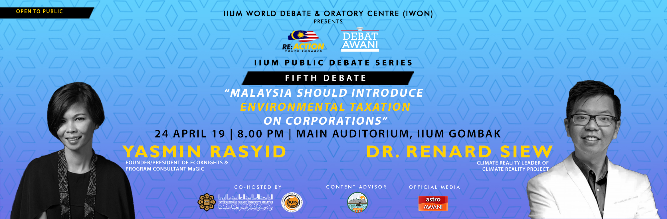 IIUM Public Debate Series #5 : Malaysia Should Introduce Environmental Taxation on Corporations""