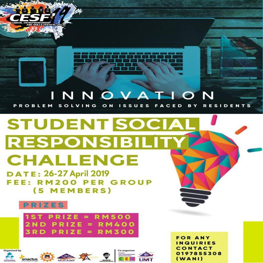 Student Social Responsibility Challenge (SSRC) 2019