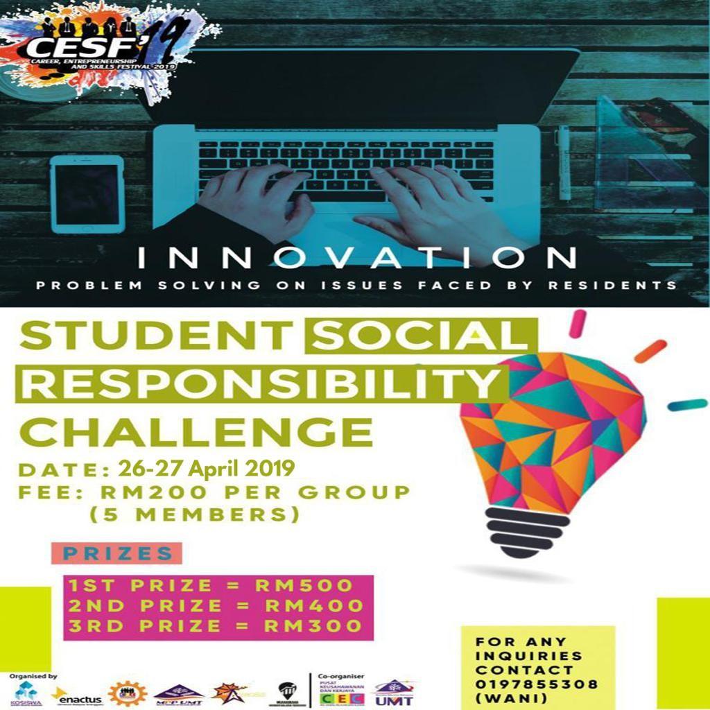 Student Social Responsibility Challenge (SSRC) 2019