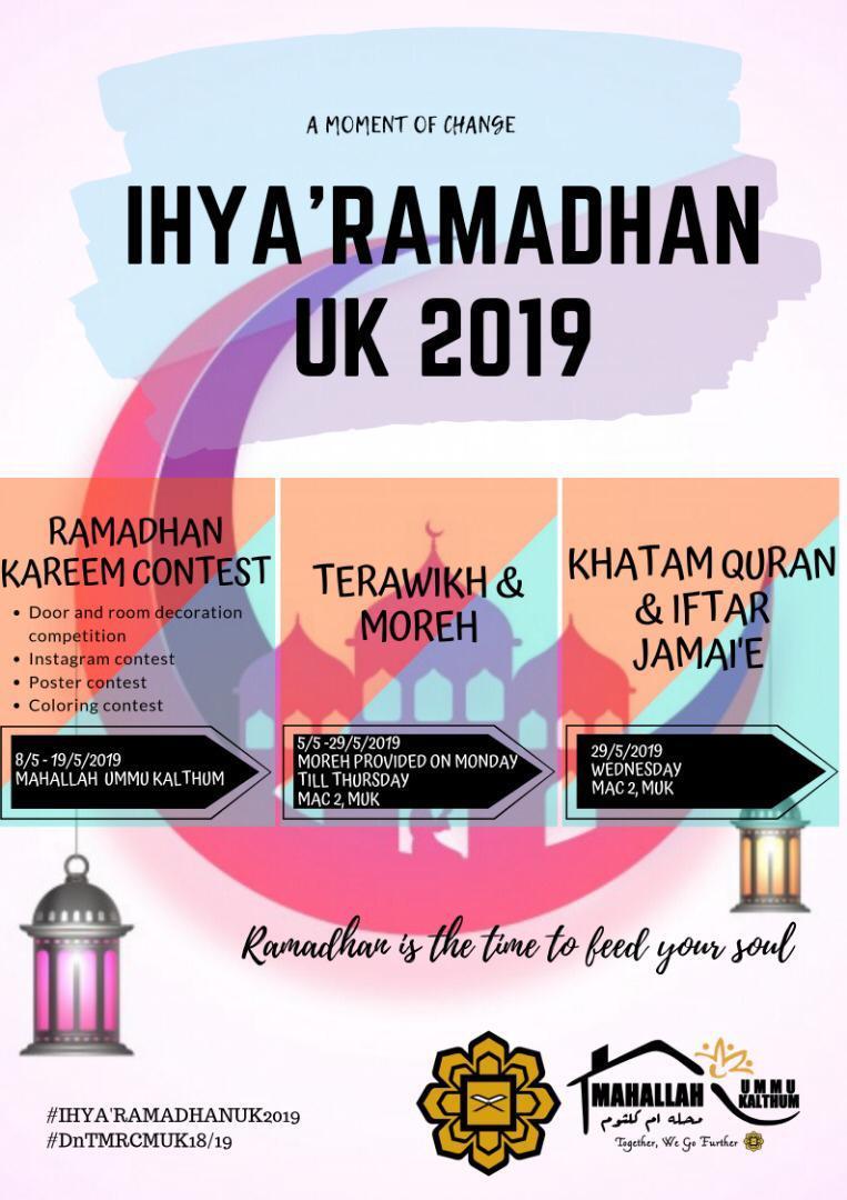 Ihya' Ramadhan: A Moment of Change