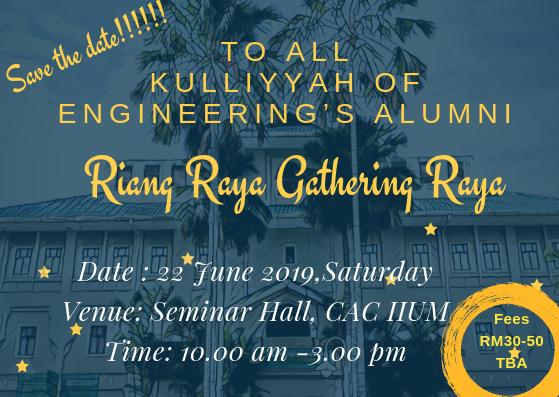 Riang Ria Gathering Raya of Engineering's Alumni