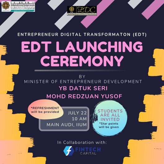 Launching Ceremony of Entrepreneur Digital Transformation 2019