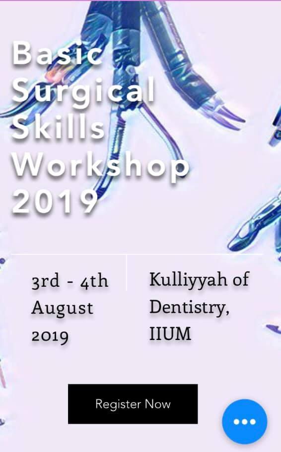 Basic Surgical Skills Workshop 2019