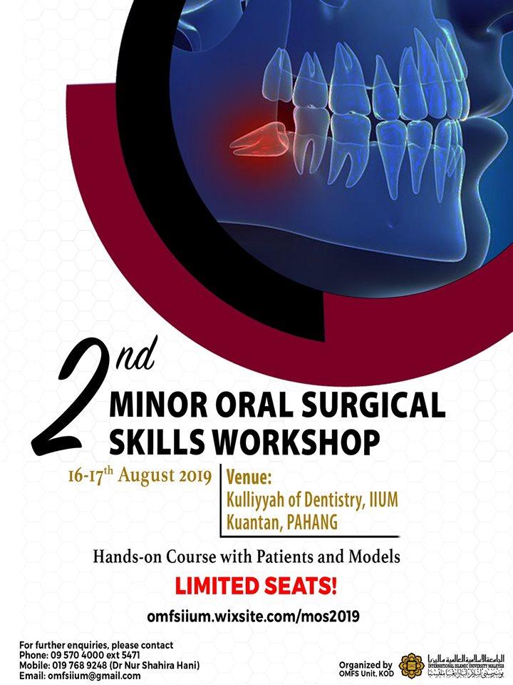 2nd Minor Oral Surgery Workshop 2019