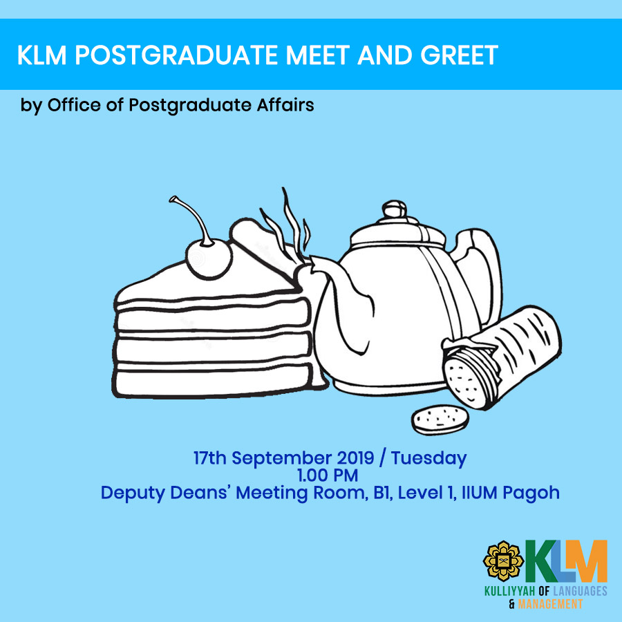 KLM Postgraduate Meet and Greet