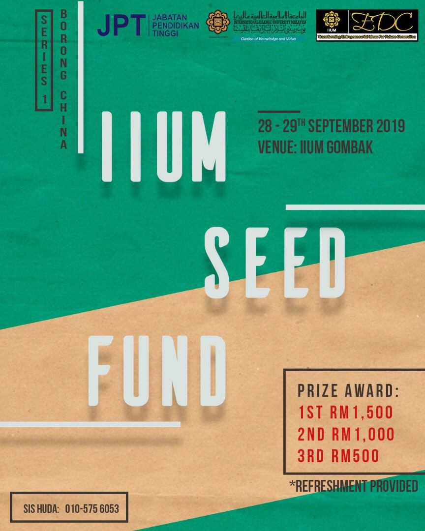 IIUM SEED FUND SERIES 1 - BORONG CHINA