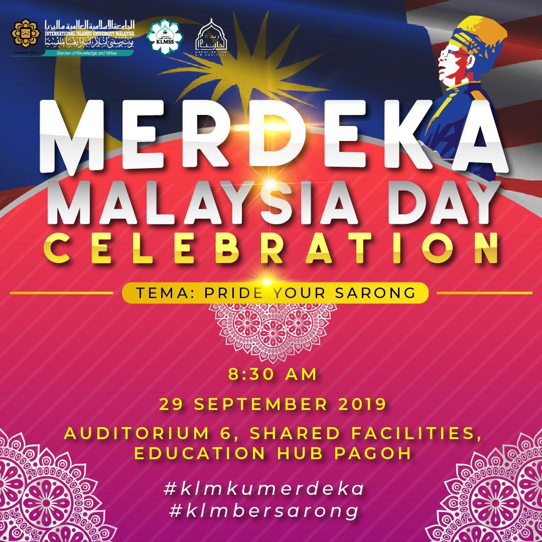 Merdeka Malaysia day celebration
